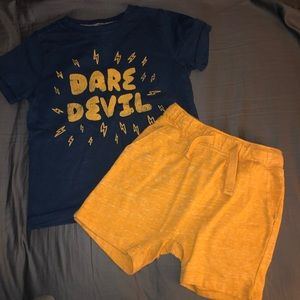 Toddler Boys Gymboree and Old Navy Set